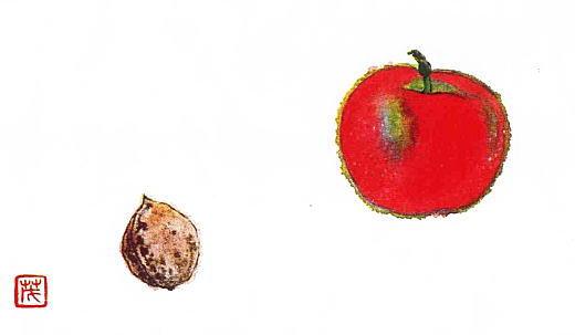 りんごと胡桃.jpg