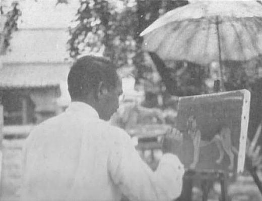 三上知治「シェパード」1934.jpg