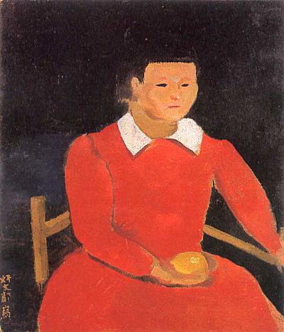 三岸好太郎「檸檬持てる少女」1923.jpg