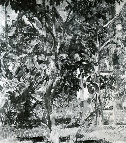 中村彝「画室の庭」1918頃.jpg