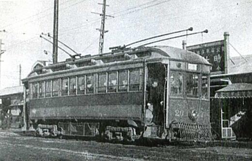 京王電気軌道追分駅1923.jpg