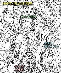 代々幡村代々木1909.jpg