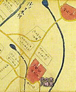 代々木八幡宮(江戸期).jpg