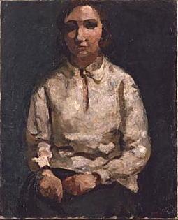 伊藤廉「白いブラウス」1929.jpg