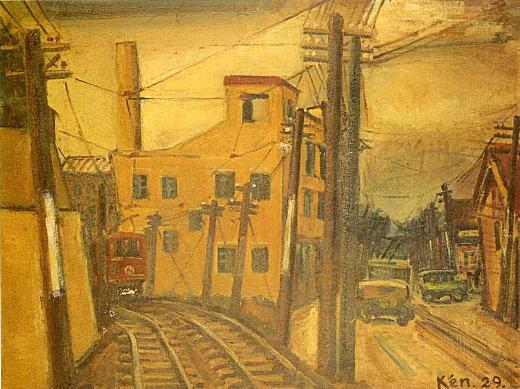 伊藤研之「黄色い建物」1929.jpg