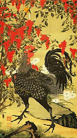 伊藤若冲「南天雄鶏図」1761.jpg