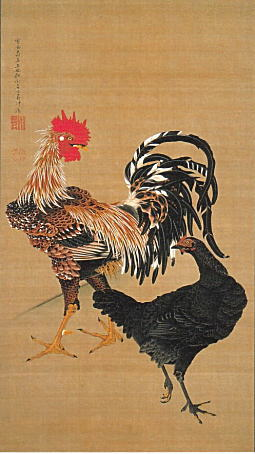 伊藤若冲「大鶏雌雄図」1759.jpg