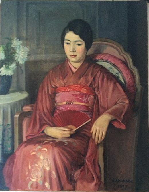 刑部人「島津鈴子像」1927.JPG