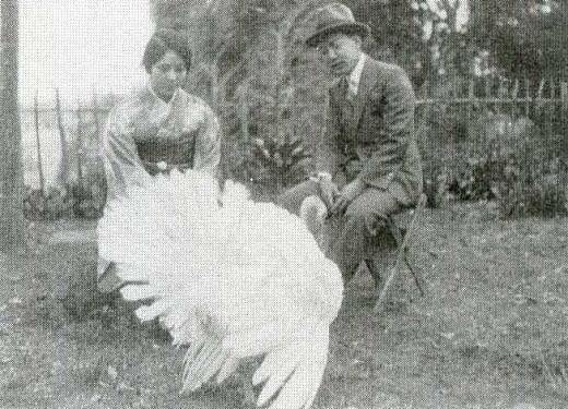 刑部夫妻七面鳥1931-32.jpg