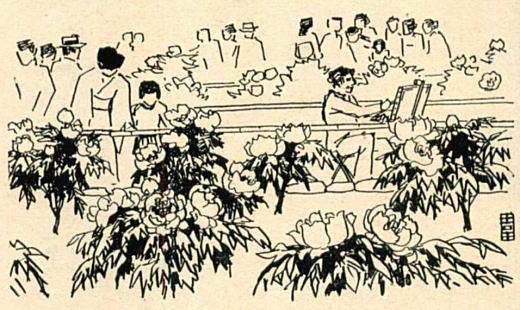 吉田遠志「徳川牡丹園」1965.jpg
