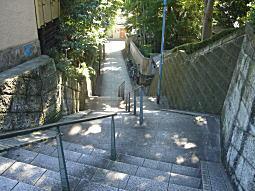 四ノ坂バッケ階段1.JPG