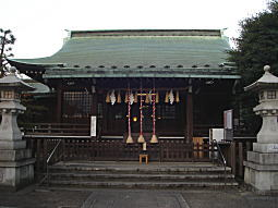 夜明け前の氷川明神.JPG