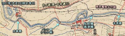 妙正寺川1921.JPG