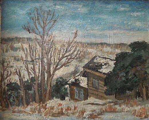 宮本恒平「画兄のアトリエ」194501.jpg