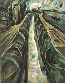 寺田政明「二つの道」1954.jpg