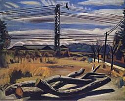 小出楢重「枯木のある風景」1930.jpg