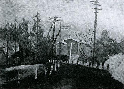 小松益喜「炭糟道の風景」1927.jpg