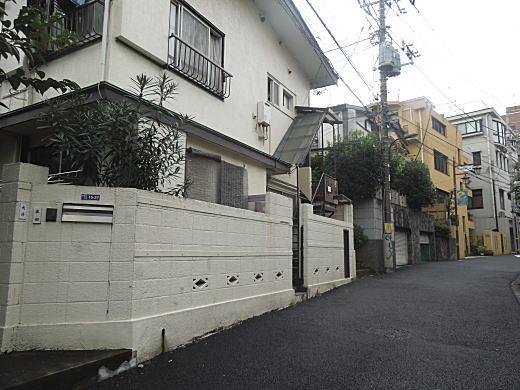 山口淑子邸跡.JPG