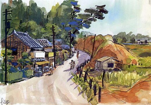 山手線から諏訪社1938.jpg