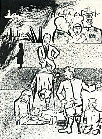 岡本唐貴「祖国と廃兵」1931.jpg