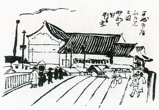 岸田劉生「新古細工銀座通・歌舞伎座附近」1927.jpg