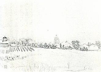 平塚運一「西落合風景」1932.jpg