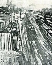 平山鉄夫「新宿駅構内」1928.jpg
