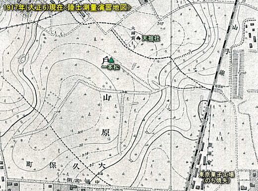 戸山ヶ原塹壕1917.jpg