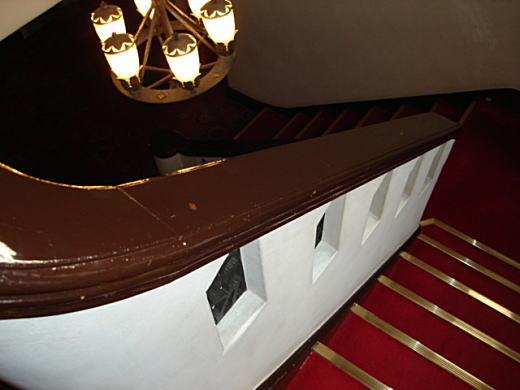 日立目白クラブ階段.JPG