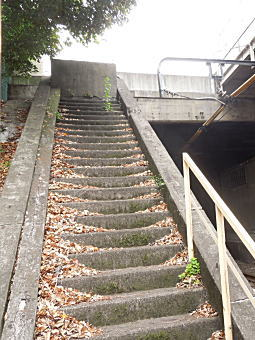 旧目白駅階段.jpg