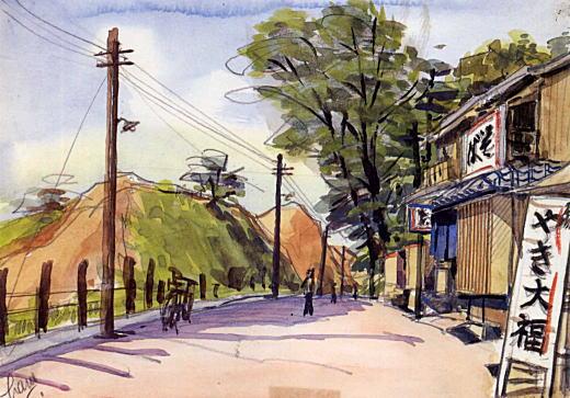 明治通りから諏訪社1938.jpg