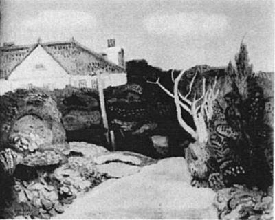 有岡一郎「初秋郊外」1926.jpg