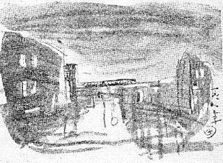 木村荘八「数寄屋橋夜景」1941.JPG
