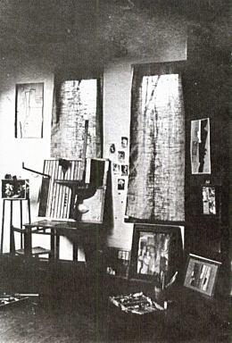 村山アトリエ内部1924.jpg