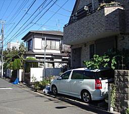 村山知義仮住い跡.JPG