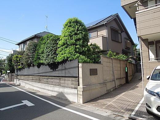 松居松翁邸跡.JPG
