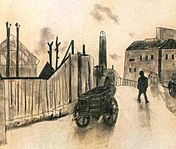 松本竣介「ごみ捨て場付近」1942.jpg