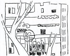 松本竣介「建物と樹木」1936.jpg