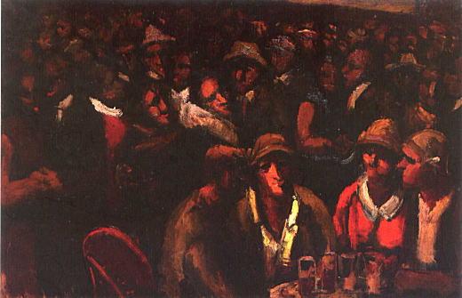 横手貞美「フランス革命記念祭の集い」1930.jpg