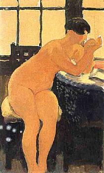 満谷国四郎「窓ぎわ」1932.jpg