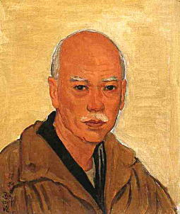 満谷国四郎「自画像」1933.jpg
