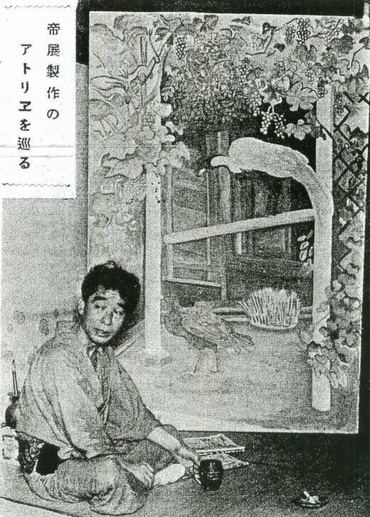 牧野虎雄「白鸚」193109.jpg