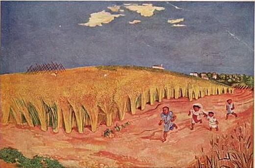 牧野虎雄「麦秋」1933.jpg