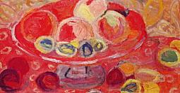 甲斐仁代「赤い静物」1960.jpg