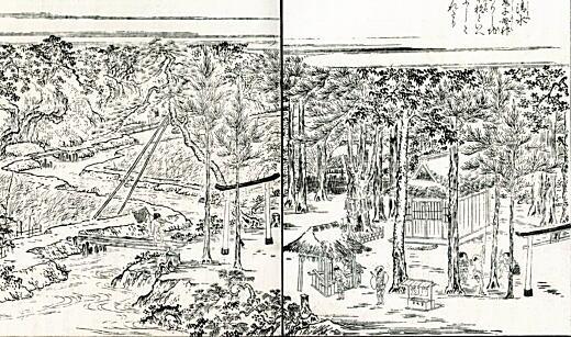 神田久保(江戸名所図会).jpg