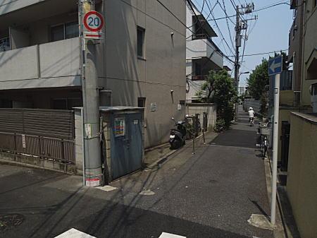 窪川稲子邸跡界隈.JPG