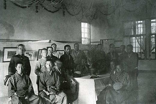 第3回団栗洋画展覧会1917.jpg