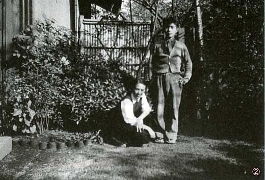 自邸庭にて1939頃.jpg