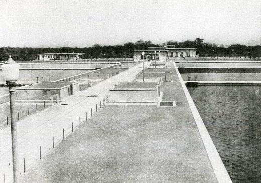 荒玉水道砧村浄水場1931.jpg