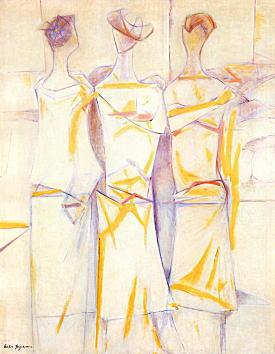 藤川栄子「三人の構図」1967.jpg